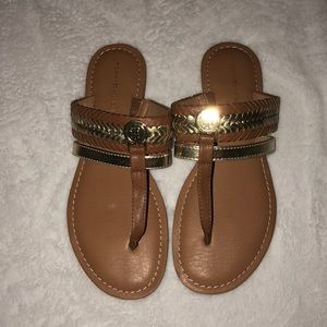 TOMMY HILFIGER SANDALS NEVER BEEN WORN